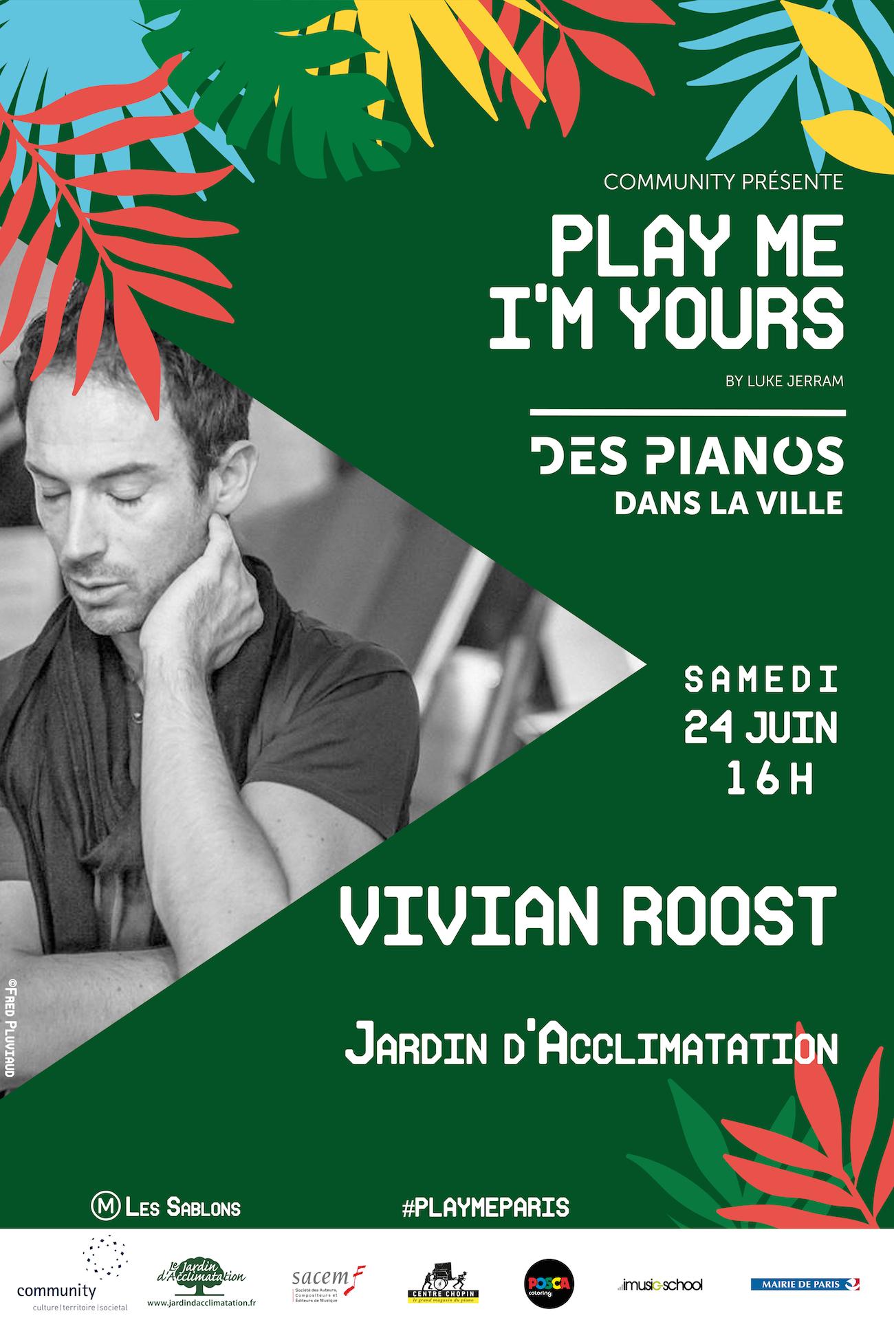 Vivian roost en concert que faire paris - Musee en herbe jardin d acclimatation ...