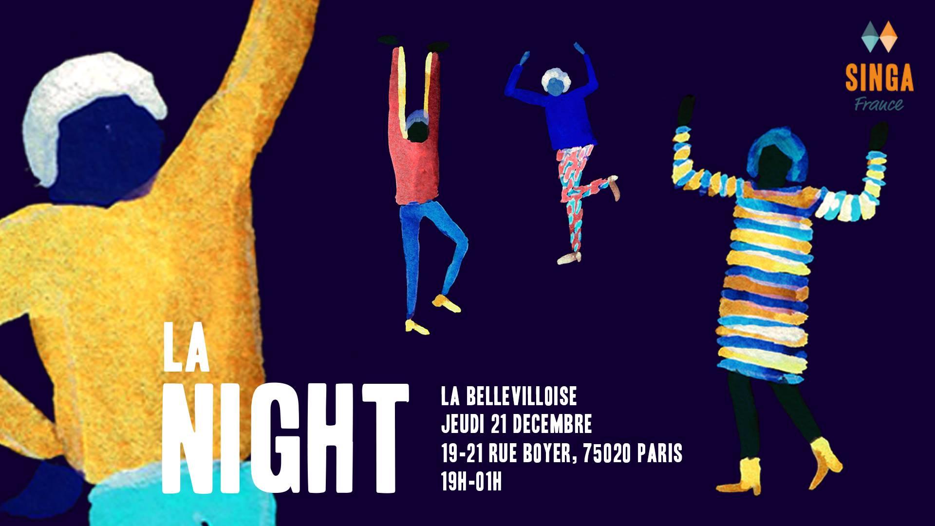 LA NIGHT #6 BY SINGA