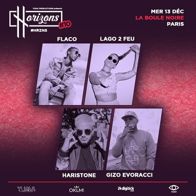 HORIZONS - HRZNS#10 - LAGO 2 FEU - FLACO - HARISTONE - GIZO EVORACCI
