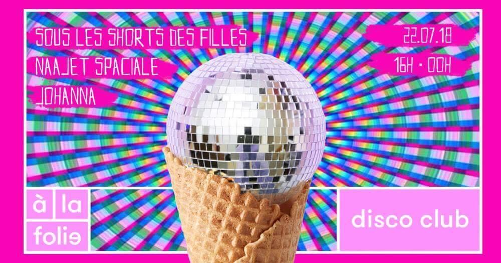 Disco Club Short de Zouz'