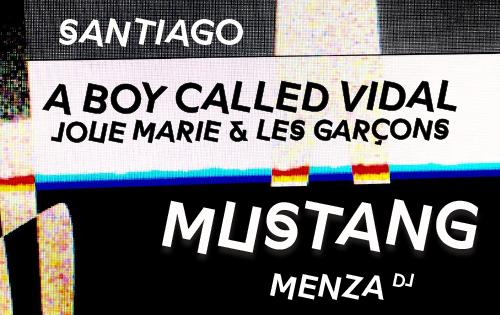 A Boy Called Vidal joue Marie et les garçons • Santiago