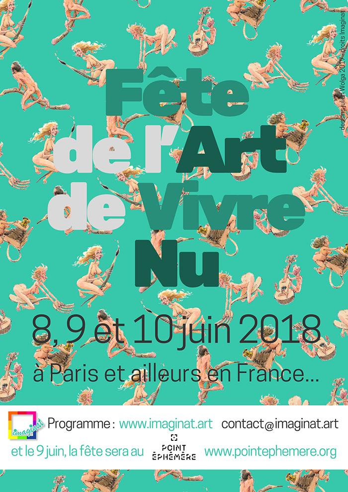 IMAGINAT PRÉSENTE FÊTE DE L'ART DE VIVRE NU #2
