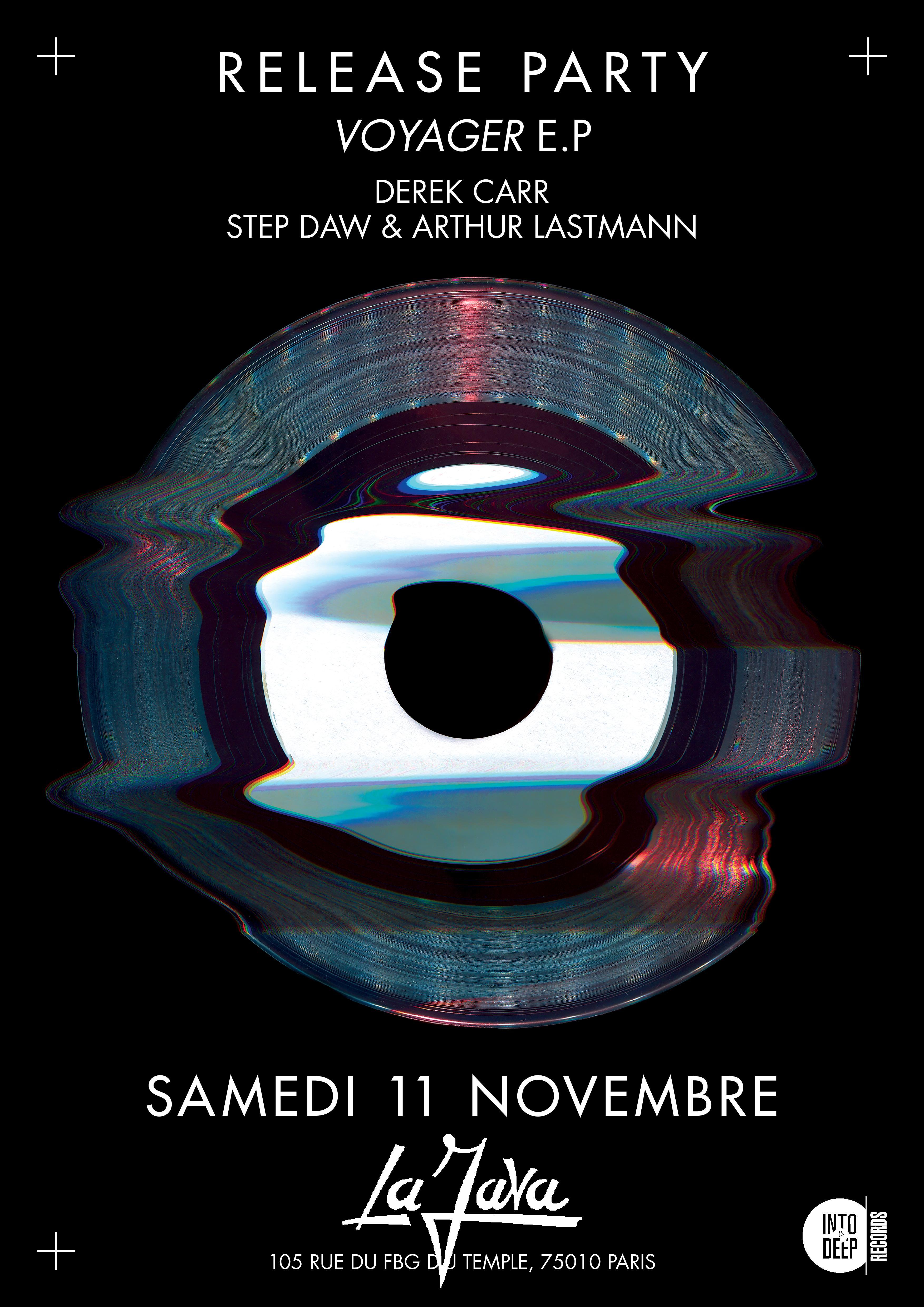 Itrd003 release party w Derek Carr, Step Daw, Arthur Lastmann