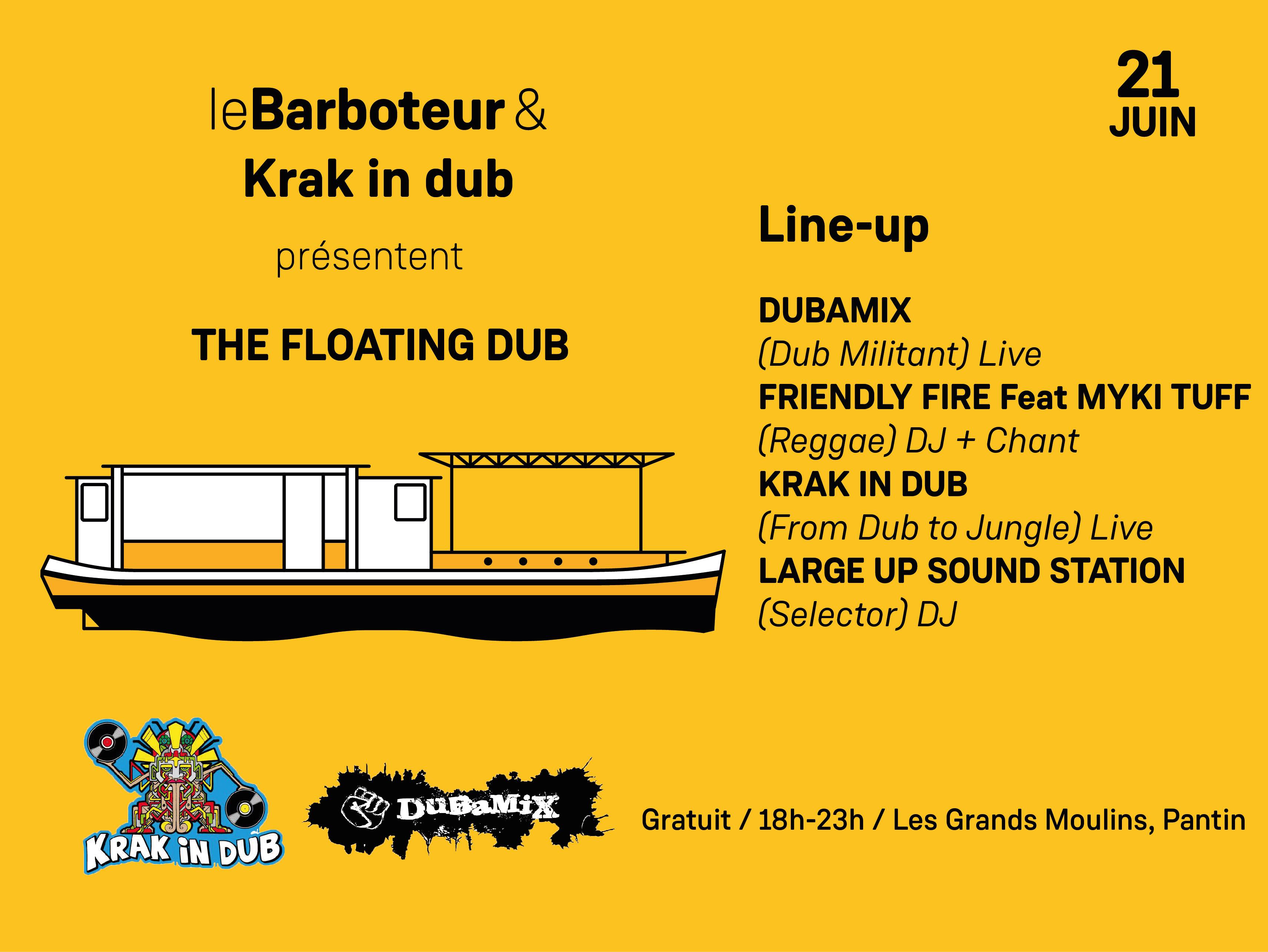 Fête de la musique - The Floating Dub