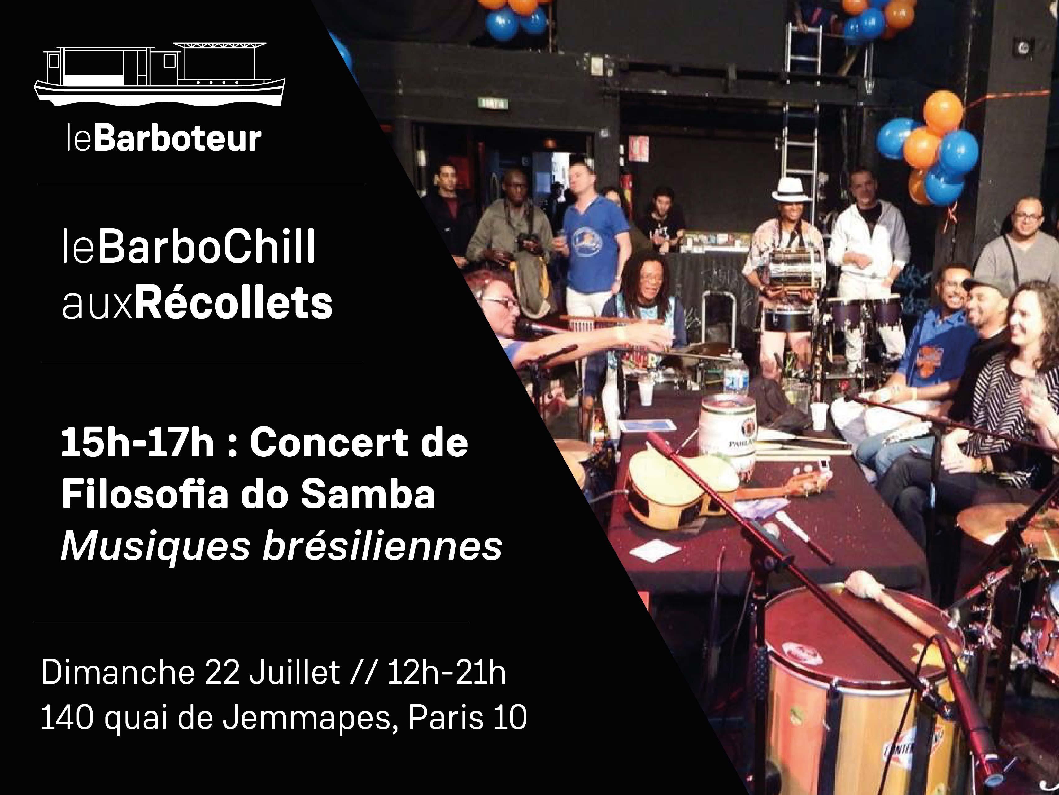 Filosofia do Samba en concert