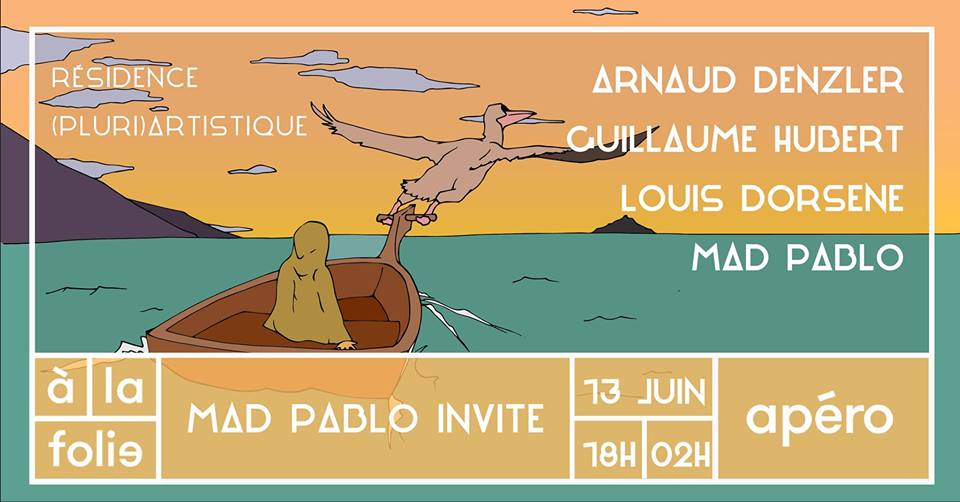 Mad Pablo invite de vrais artistes !
