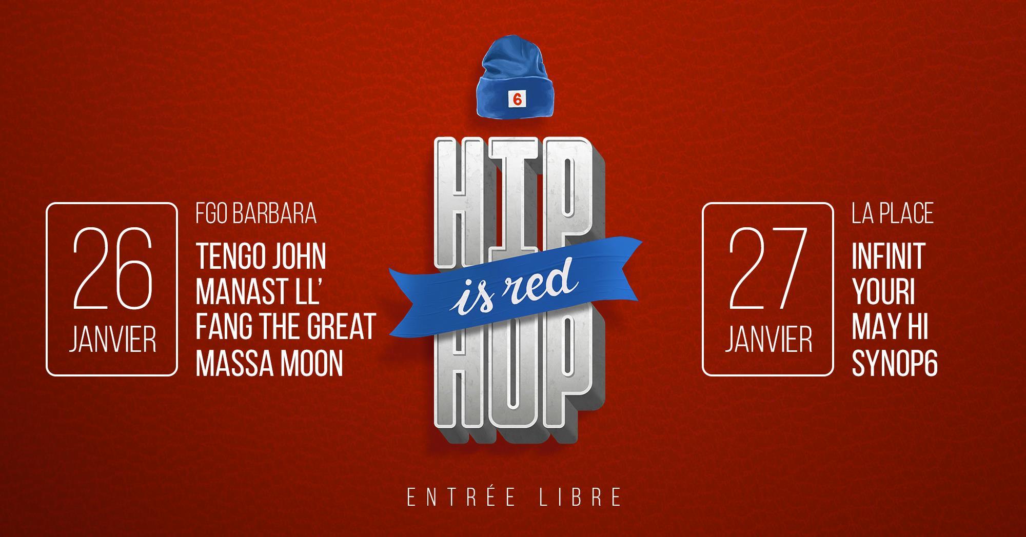Concert • Hip Hop is Red #4