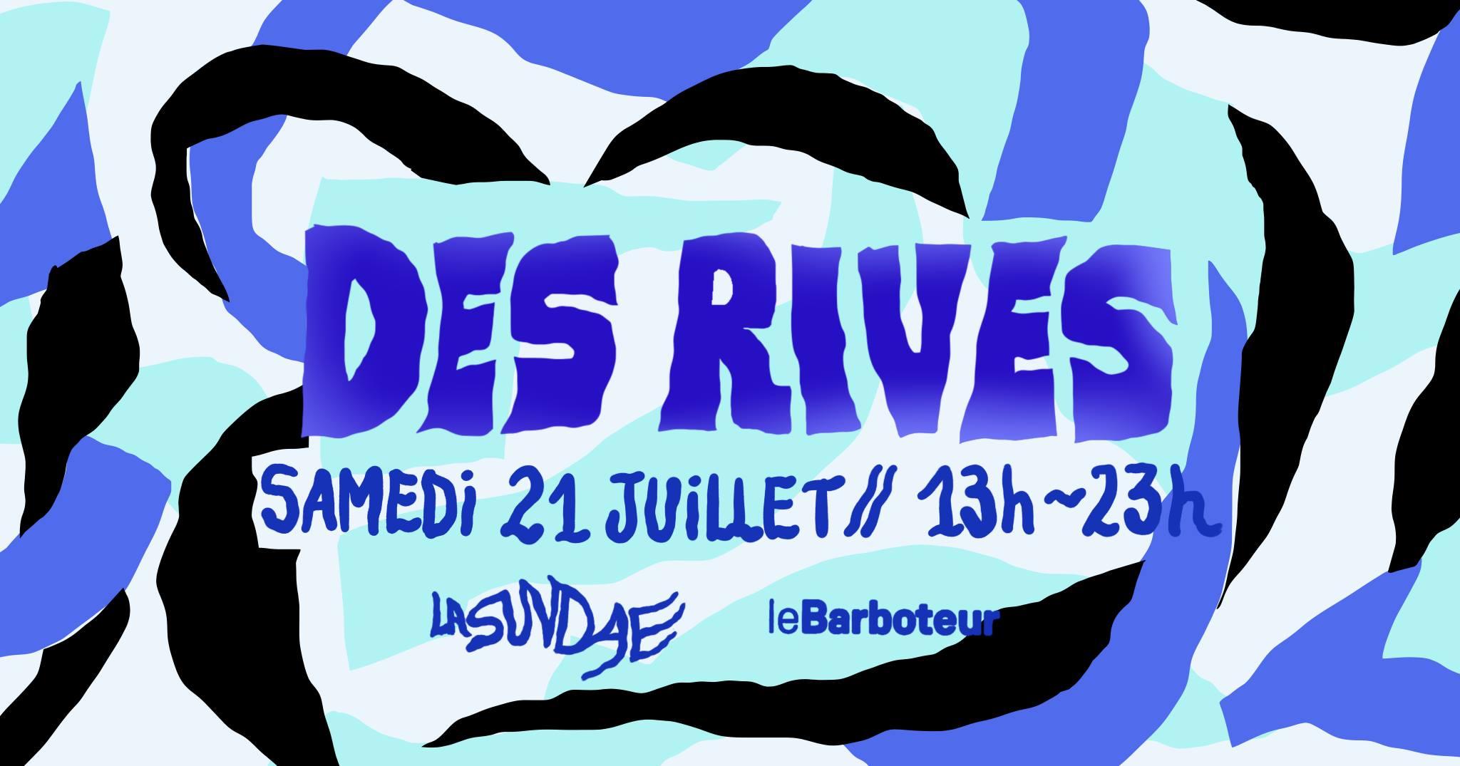 La Sundae présente ~Des Rives #4~ Open Air & Brunch