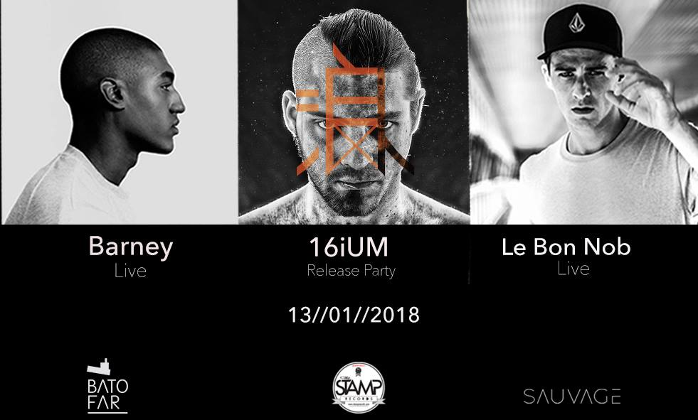 Concert : Le Bon Nob, Barney, 16iUM