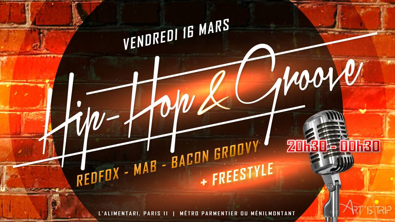 HIP HOP & Groove : Concert + Freestyle
