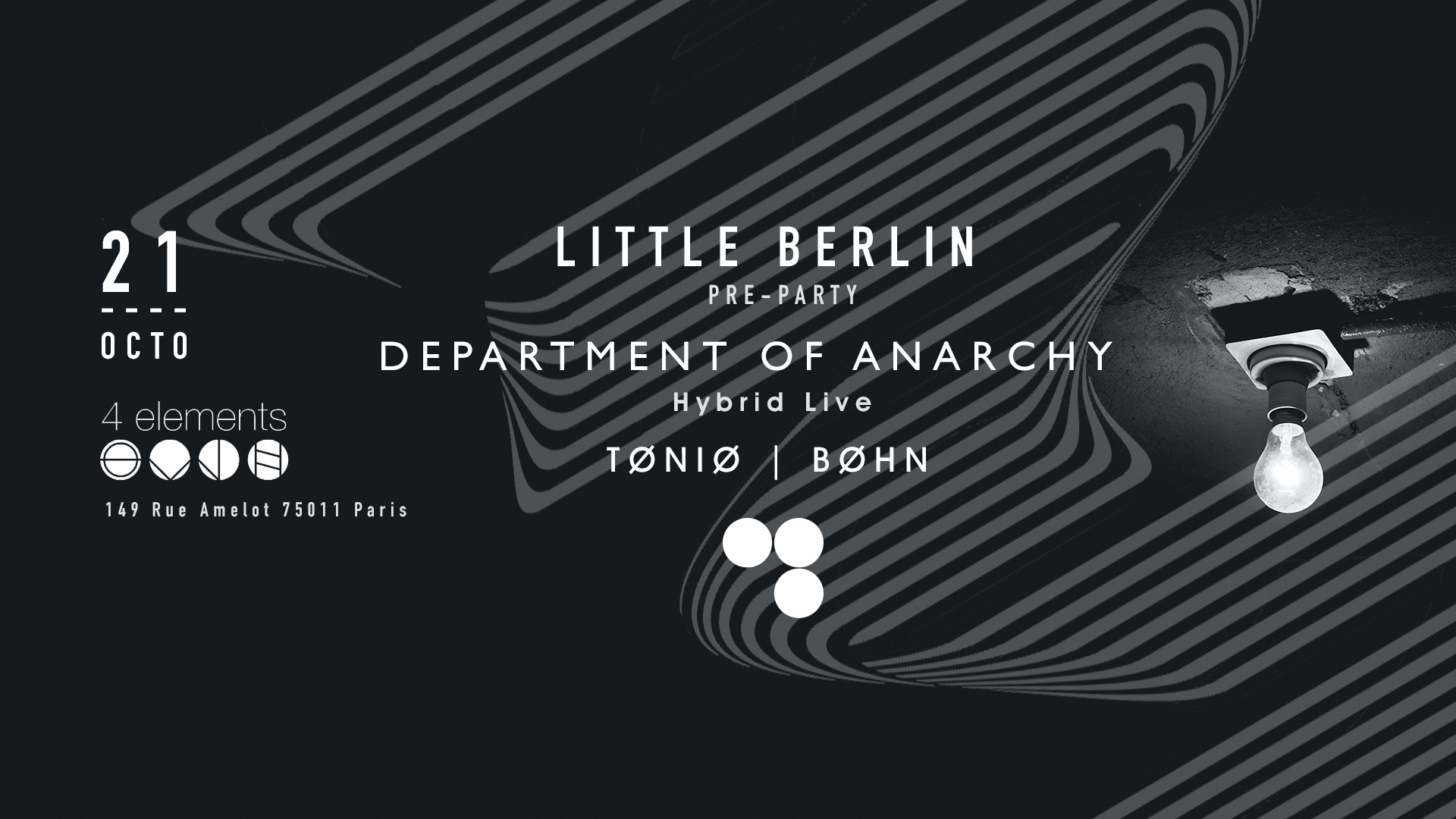 Little Berlin In Paris w / Department of Anarchy