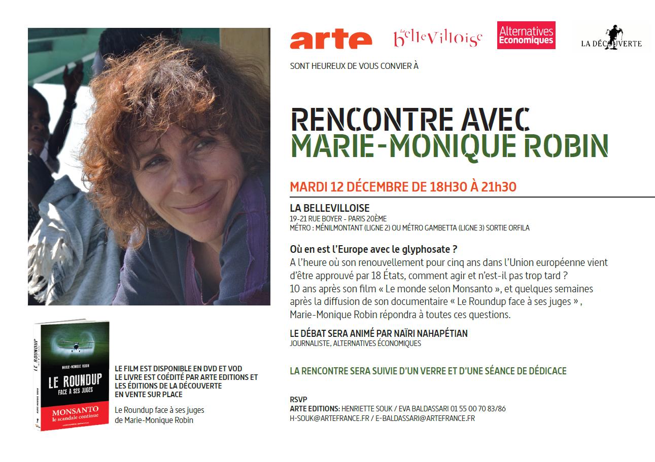 RENCONTRE AVEC MARIE-MONIQUE ROBIN