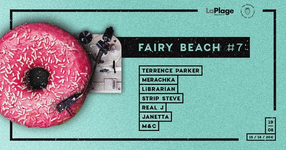 Fée Croquer - Fairybeach#7 Terrence Parker/ Merachka/ Waxtefacts