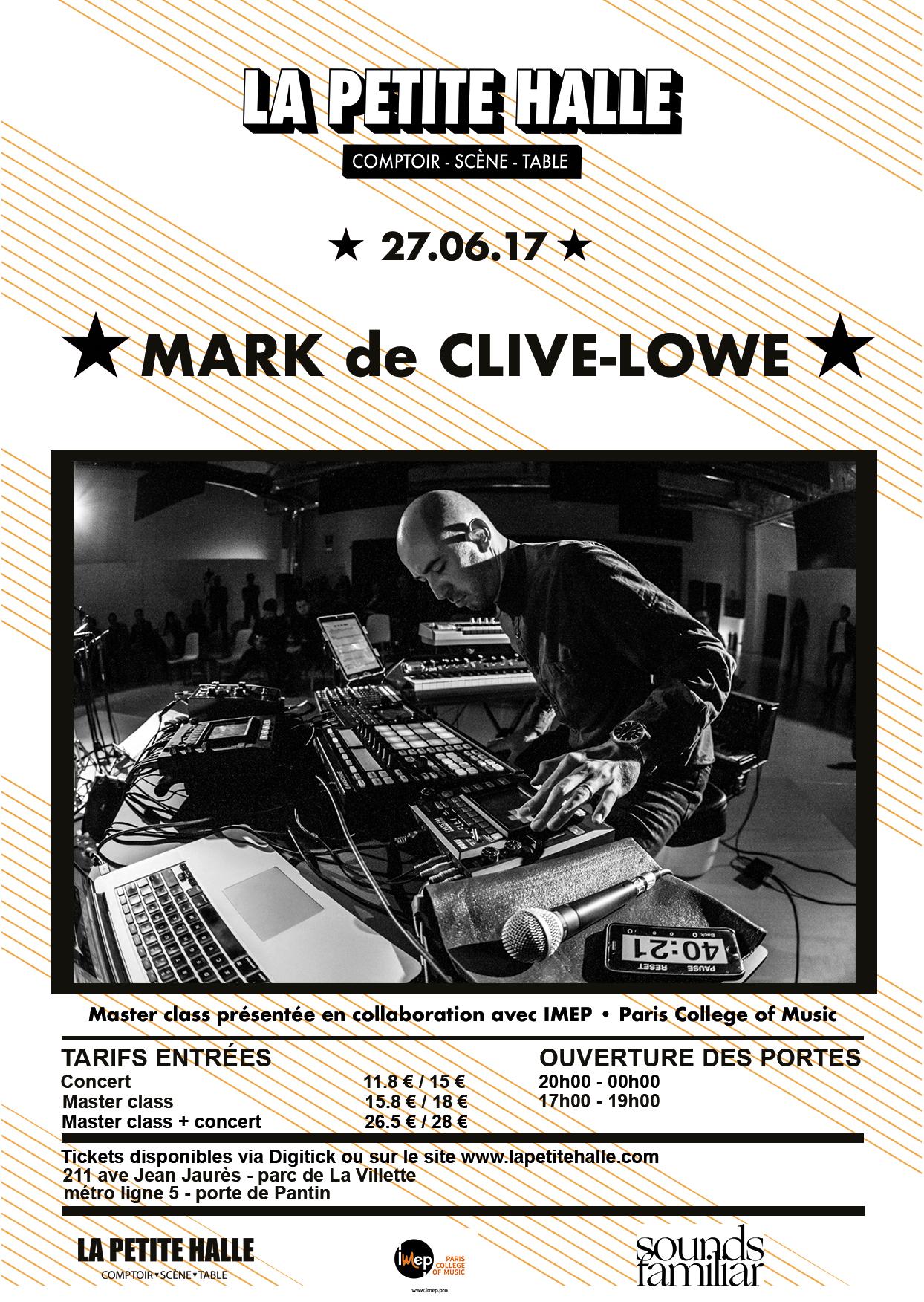 Master Class Mark de Clive-Lowe