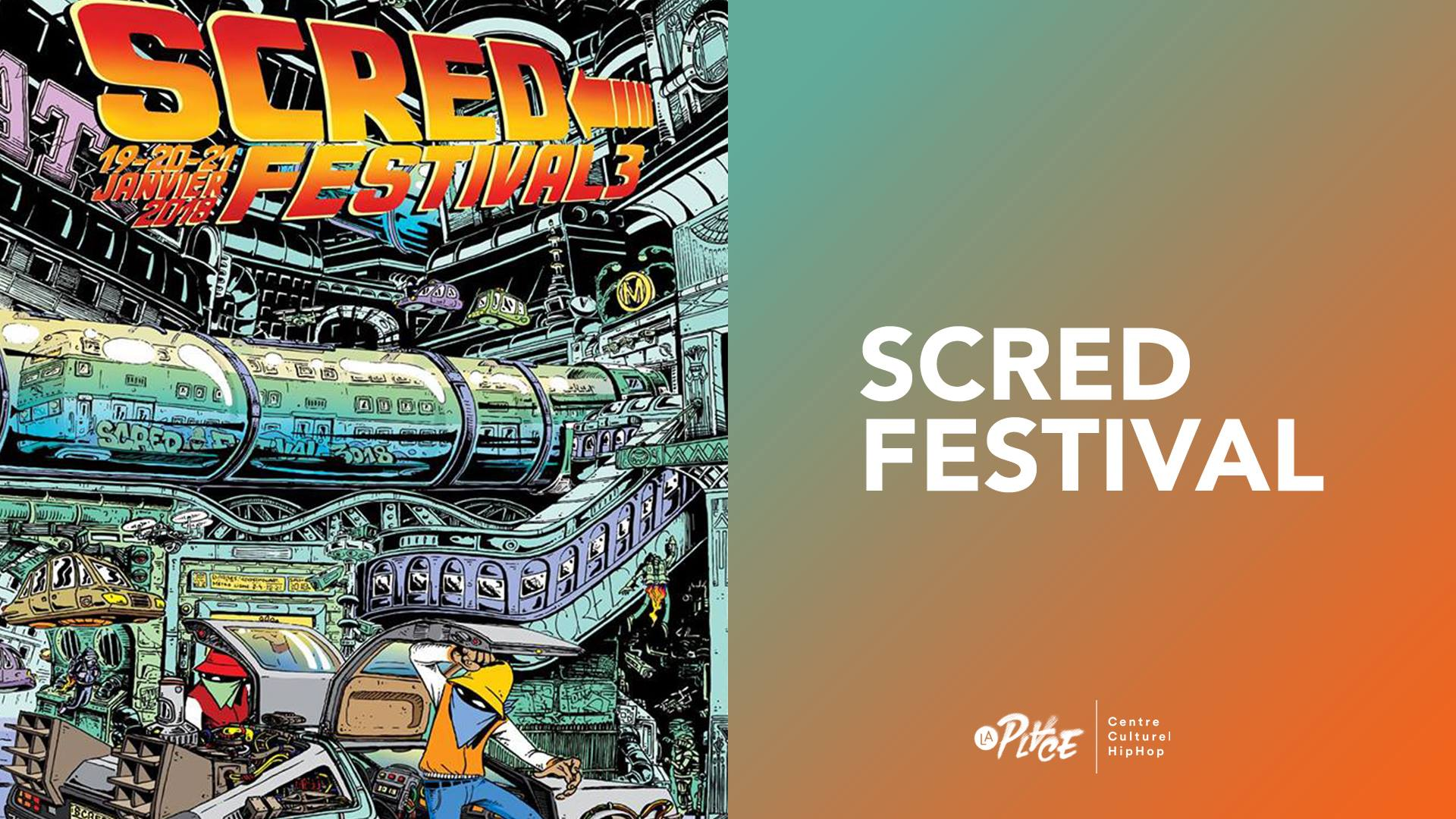 SCRED festival • Battle danse et contest rap