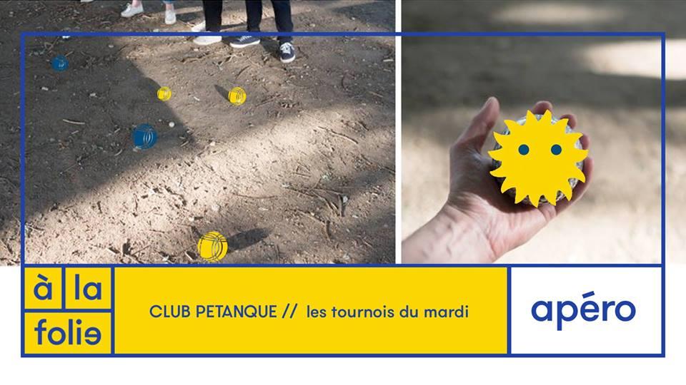 Club Pétanque / / les tournois du mardi