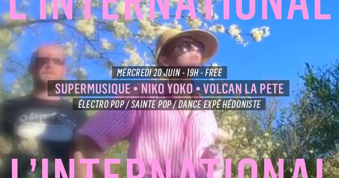 Supermusique • Niko Yoko • Volcan La Pete