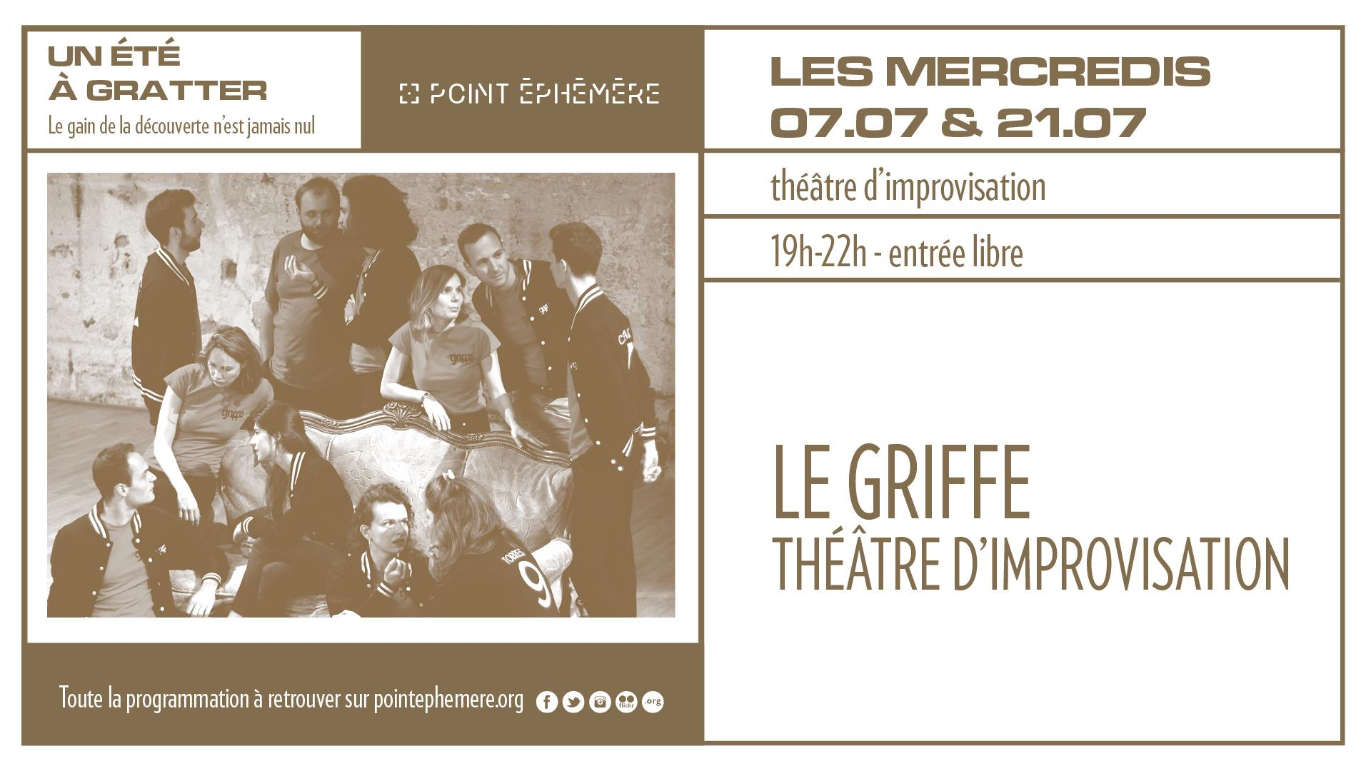 le Griffe, théâtre d'improvisation