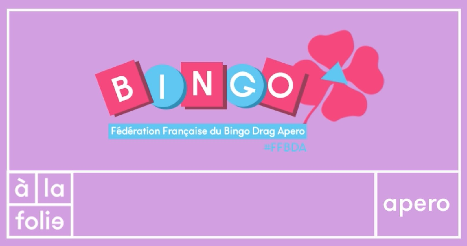 Fédération française du Bingo Drag Minima & Veronika Von Lear