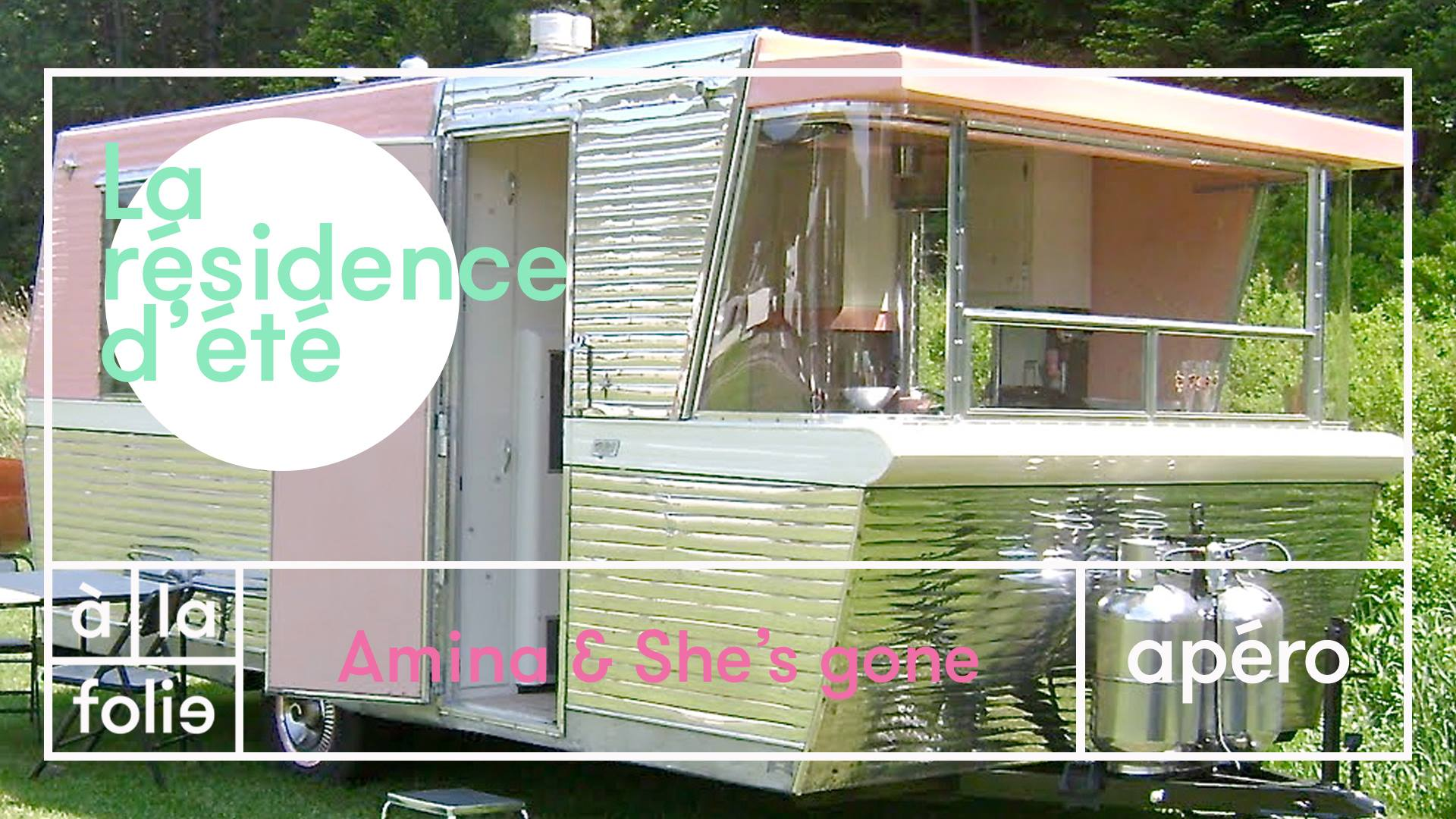 Résidence d'été w/ Amina & She's Gone