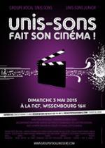 Concert : Unis-Sons fait son cinéma !