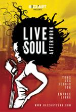 LIVE & SOUL AFTERWORK  Feat SOULNESS, MARINA