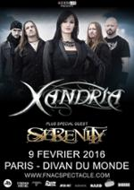 XANDRIA + SERENITY @ Paris