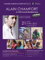 Alain Chamfort sur scène philanthropique
