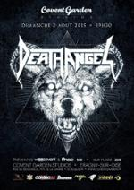 Death Angel en concert !