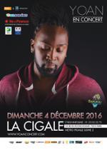 Yoan - Premier souffle Toour à La Cigale - Jour 8 du festival BANLIEUES TROPICALES