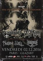Concert de Possessed & Belphegor