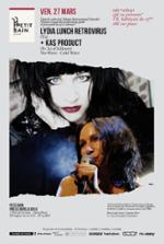 KAS PRODUCT + LYDIA LUNCH RETROVIRUS