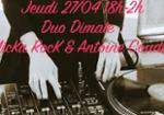 DUO DIMATE MICKA ROCK & ANTOINE COUDER DJ SET