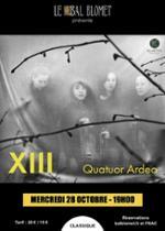 XIII QUATUOR ARDEO