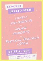 LONELY KID QUENTIN + JULIEN ROBERTS + PORTRON PORTRON LOPEZ