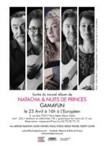 Natacha & Nuits De Princes présentent leur nouvel album
