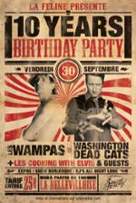 LA FELINE 10 YEARS BIRTHDAY PARTY