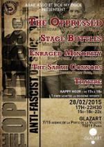 The Oppressed + Stage Bottles + Enraged Minority + The Sarah Connors + Contingent Anonyme