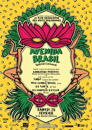 Avenida Brasil Spécial Carnaval !