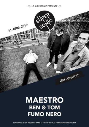 Maestro (Postwave, Tigersushi Records) en concert au Supersonic
