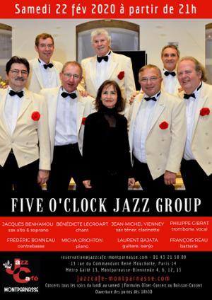 Five O'Clock Jazz Group au Jazz Café Montparnasse