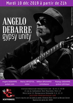 Angelo Debarre, Gypsy Unity au Jazz Café Montparnasse