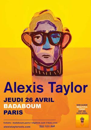 Alexis Taylor en concert au Badaboum
