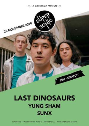 Last Dinosaurs en concert au Supersonic (Free entry)