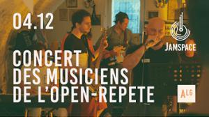 Concert des musiciens - Jam Space
