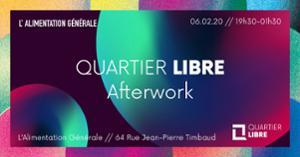 Quartier libre afterwork