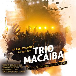 LE BAL BRASIL DE PANAME : TRIO MACAIBA