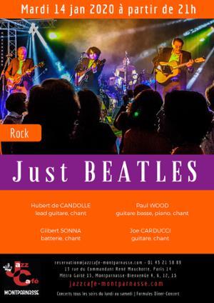 Just Beatles au Jazz Café Montparnasse