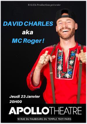 MC ROGER : L'artiste multidisciplinaire suisse se produira à l'Apollo Théatre le 23 janvier dans le cadre de son premier album