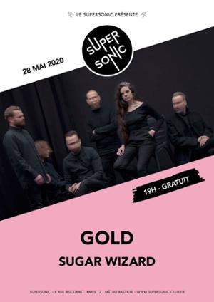 Gold • Sugar Wizard / Supersonic (Free entrance)